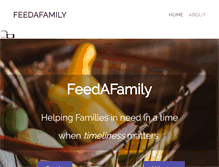Tablet Preview of feed-a-family.org